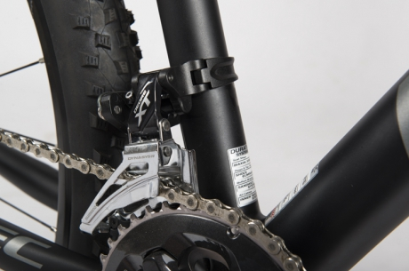 Front derailleur mounting